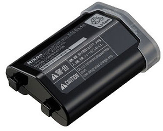 Extra EN-EL4a Battery for Nikon D2H, D2X, D2Xs, D3, D3s, D3X