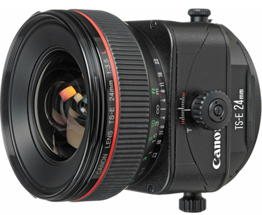 Canon TS-E 24mm f/3.5L Tilt-Shift