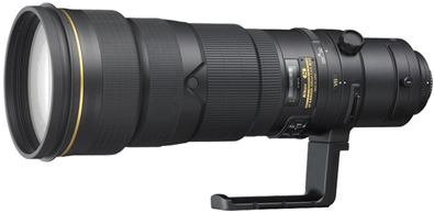 Nikon 500mm f/4G AF-S ED VR