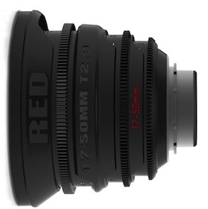 RED Pro 17-50mm T2.9 Lens