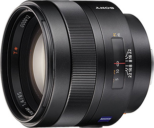Sony 85mm f/1.4 Carl Zeiss