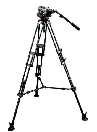 Manfrotto 546 Tripod Legs with 504HDV Head 