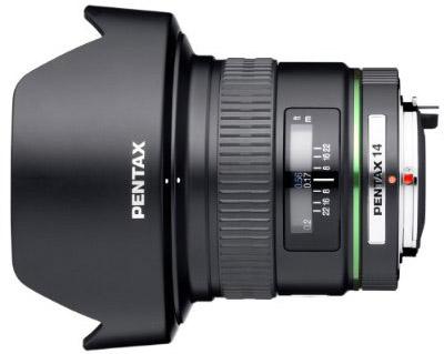 Pentax 14mm f/2.8 ED (IF) Wide Angle SMCP-DA