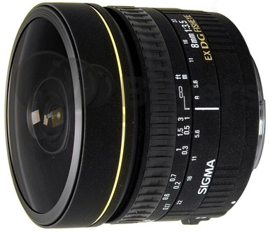 Sigma 8mm f/3.5 EX DG Fisheye for Nikon