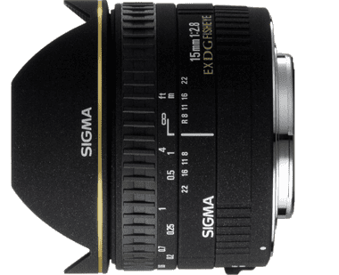 Sigma 15mm f/2.8 EX DG Fisheye for Nikon