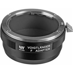 Nikon F-Mount to Micro 4/3 Lens Adapter