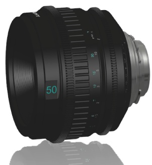 Sony Prime 50mm T2.0 PL Lens