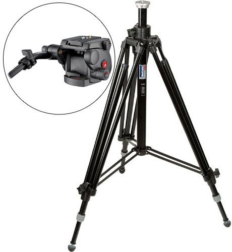 Manfrotto 028B Tripod Legs with 503HDV Head