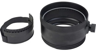 AquaTech 50mm Extension Ring for Canon LP-3 Port