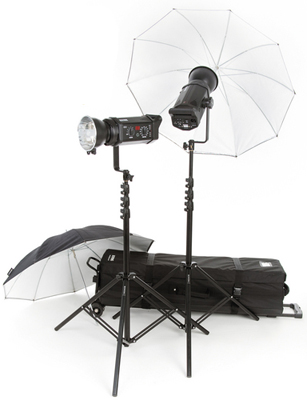 Bowens BW-4805USD Gemini 500R 2-Light Umbrella Kit