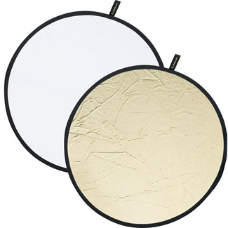 Creative Light 20&#034; White/Sunlight Reflector