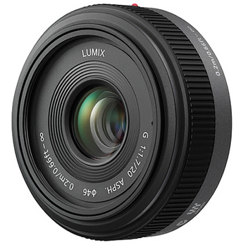 Panasonic Lumix 20mm f/1.7 Aspheric G- Series Lens for Micro Four Thirds