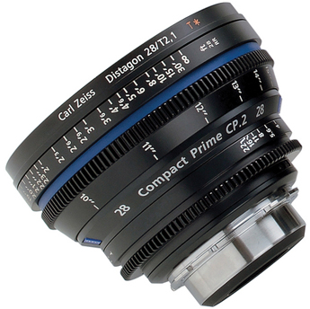 Zeiss Compact Prime CP.2 28mm/T2.1 ZF Nikon Mount