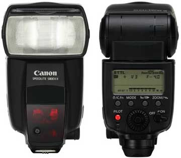 Canon Speedlite 580EX II