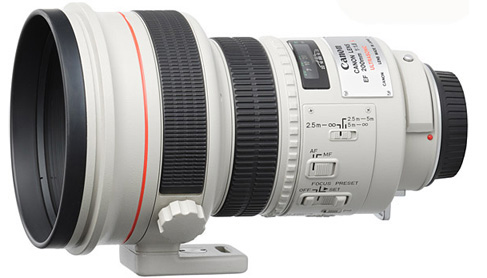 Canon EF 200mm f/1.8L USM