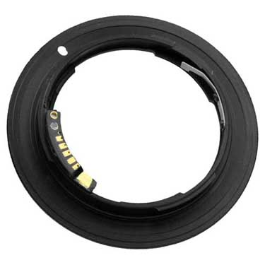 Nikon Lens to Canon Camera Adapter