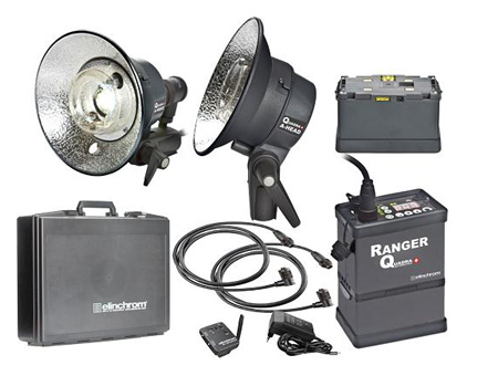 Elinchrom Ranger Quadra - 400ws Dual-Head Location Kit
