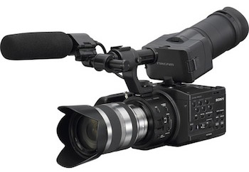 Sony NEX-FS100U Super 35mm Sensor Camcorder