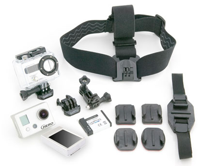 GoPro HD Hero Rugged Video/Still Camera w/LCD