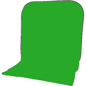 Impact Collapsible Backdrop 8x16 ft Chroma Green
