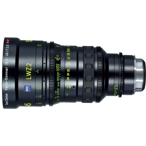 Zeiss LWZ.2 Lightweight 15.5-45mm T2.6 Zoom PL Mount
