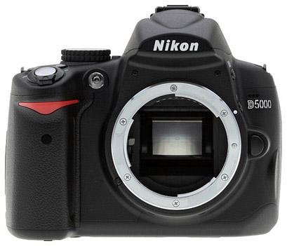 Nikon D5000 Digital SLR Camera