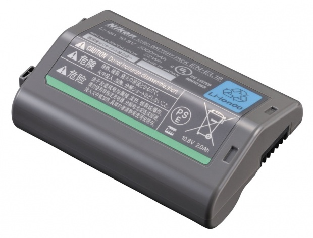 Extra EN-EL18 Battery for Nikon D4