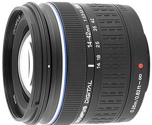 Olympus ED 14-42mm f3.5 - 5.6 for Four Thirds