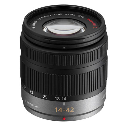 Panasonic Lumix G Vario 14-42mm f/4-5.6 Lens for Micro Four Thirds