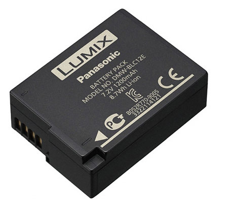 EXTRA Panasonic DMW-BLC12 Battery (for GH2)