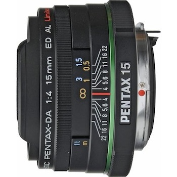 Pentax 15mm f/4 Ultra Wide Angle Lens