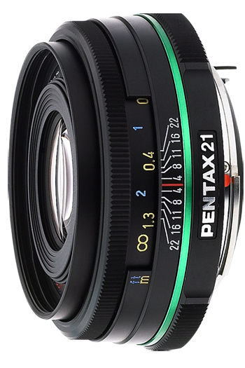 Pentax  21mm f/3.2 Wide Angle SMCP-DA AL Limited Series Autofocus Lens 