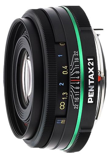 Pentax 21mm f/3.2 Wide Angle SMCP-DA AL Limited Series Autofocus Lens