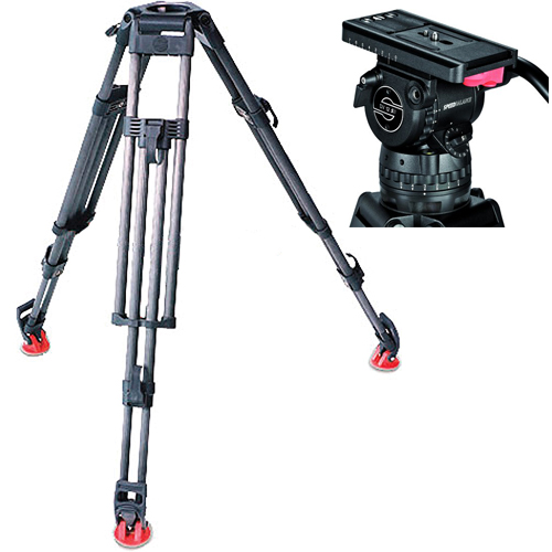 Sachtler DV-12 ENG Carbon Fiber Tripod System