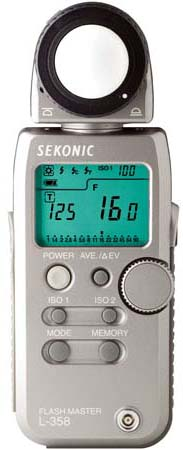 Sekonic 358 Lightmeter
