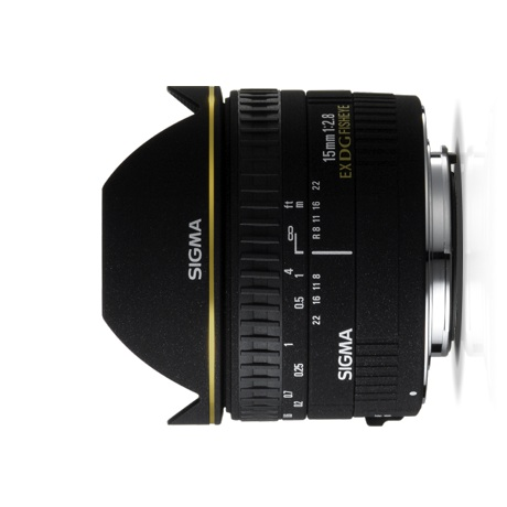 Sigma 15mm f/2.8 EX DG Fisheye for Canon
