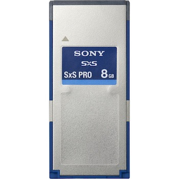 Sony SxS 8GB Memory Card