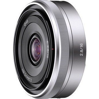 Sony E-Mount 16mm f/2.8
