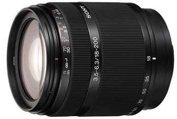 Sony 18-200mm f/3.5-6.3