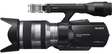 Sony NEX-VG20 Interchangeable Lens Handycam Camcorder