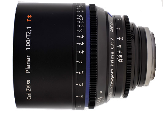 Zeiss Compact Prime CP.2 100mm/T2.1 CF Cine Lens EF for Canon