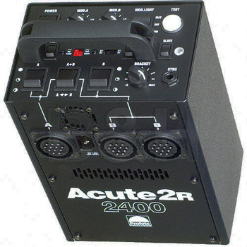 Profoto Acute 2R - 2400 Watt/Second Power Supply with Built-In Pocket Wizard Receiver