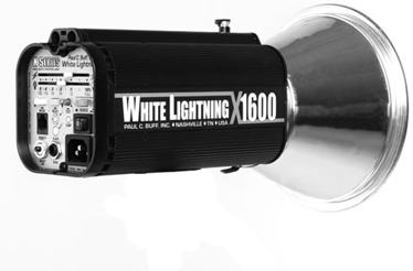 White Lightning X-Series X1600 Flash Unit
