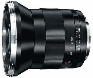 Zeiss 21mm f/2.8 Distagon T* ZE for Canon