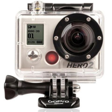 GoPro HD Hero2 Rugged Video/Still Camera w/LCD