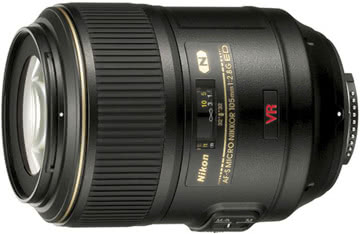 Nikon 105mm f/2.8G AF-S VR IF-ED Micro