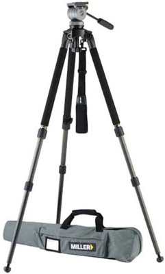 Miller DS-10 DV Fluid Head w/Solo Aluminum Tripod