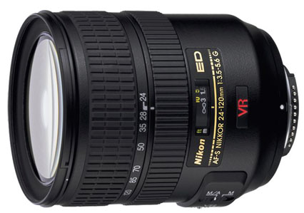Nikon 24-120mm f/3.5-5.6G AF-S ED-IF VR