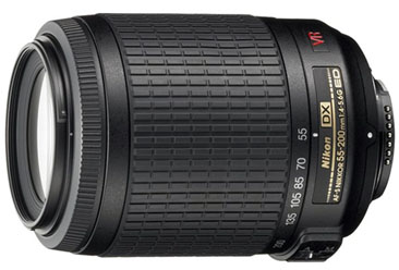 Nikon 55-200mm f/4-5.6G AF-S DX VR IF-ED