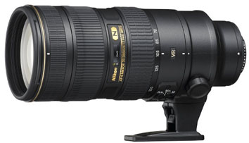 Nikon 70-200mm f/2.8G AF-S ED VR II 